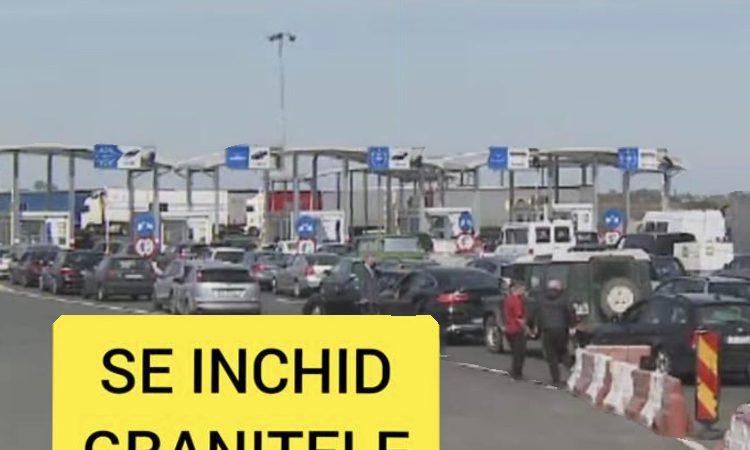 Încă o țară europeană își închide frontierele, pentru a combate numărul mare de infectări cu Covid-19