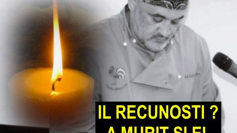 ULTIMA ORA! Un bucătar foarte cunoscut din România a murit după ce