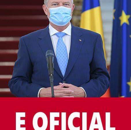 Iohannis anunta restrictii dure in Romania incepand de luni