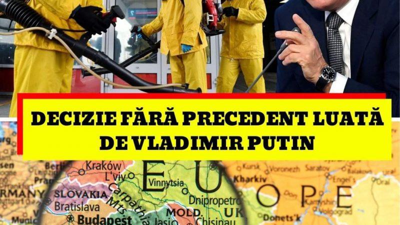 Ce se întâmplă la granițele României. Decizie fără precedent luată de Vladimir Putin